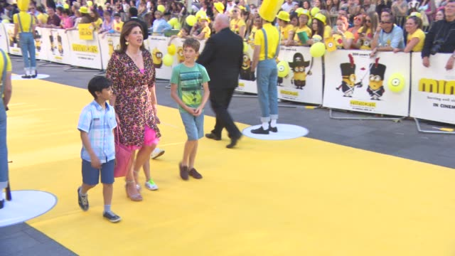 Kirstie Allsopp at 'Minions' World Premiere at Odeon Leicester Square on June 11 2015 in London England