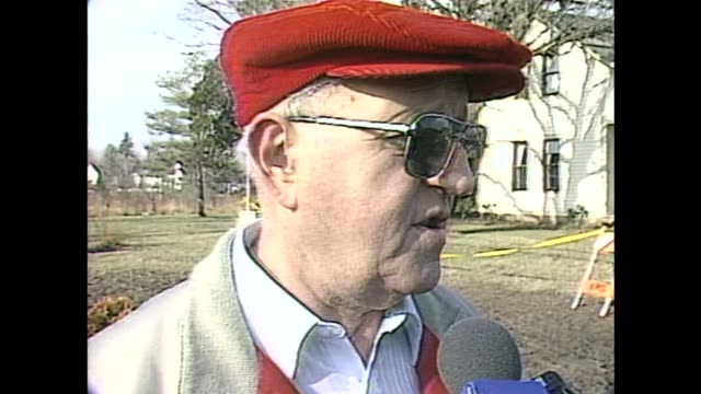 wjw kirtland community members react to cult murders on january 4 1990 in kirtland ohio - cult stock videos & royalty-free footage