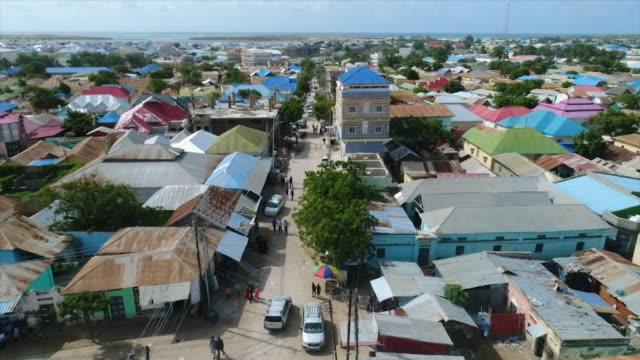 kismayo aerials - somalia stock videos & royalty-free footage