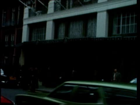 kissinger/thatcher meet; england: london: claridges: claridges: kissinger and thatcher into room sit on sofa - zoom to thatcher to kissinger: bv... - claridge's stock videos & royalty-free footage