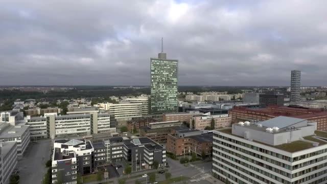 Kista Stockholm Aerial