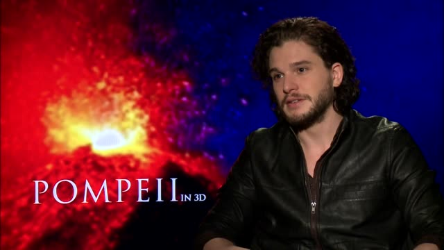 kit harington on the difficulties of gaining muscle for a role - part 03 - lap body area stock videos & royalty-free footage