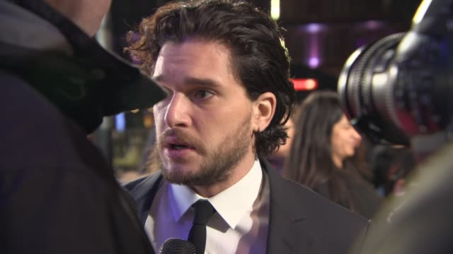 kit harrington at 'testament of youth' uk film premiere at empire leicester square on january 05, 2015 in london, england. - leicester square stock videos & royalty-free footage