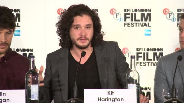 INTERVIEW Kit Harrington on the difference between this role and playing John Snow in Game of Thrones at 'Testament of Youth' Press Conference at May...