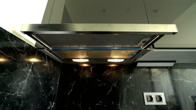 küche-sauger - 4k - cooker stock-videos und b-roll-filmmaterial