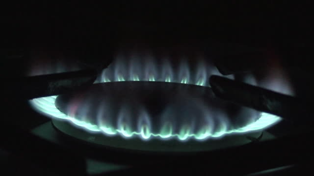 kitchen burner - hd 25 fps stock videos & royalty-free footage