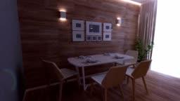 Kitchen rendering 3D Graphics interior design blurred loft