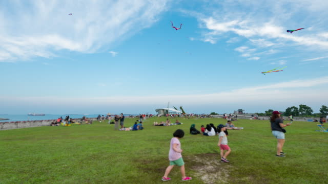 Kite festival, a gathering for kite enthusiast at Marina Barrage