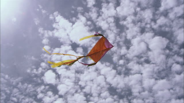 MS LA Kite flying against sky / Siem Reap Province, Cambodia