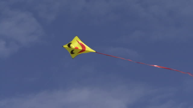 Kite flying in the sky , Low angle view