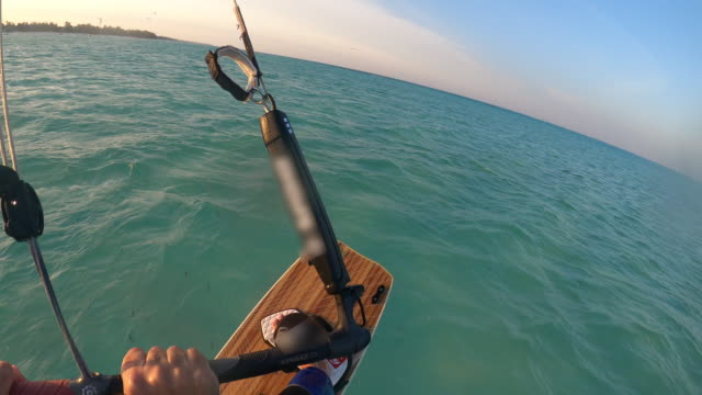 vidéos et rushes de kitesurf - caméra portable