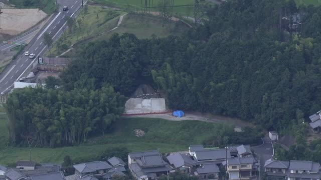 AERIAL, Kitora Tomb, Nara, Japan