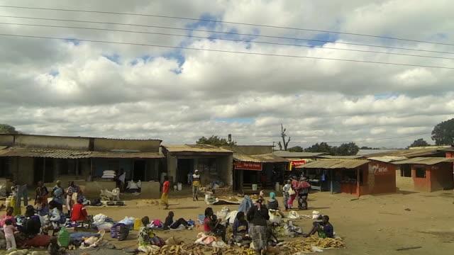 Kitwe Zambia Market Drive by