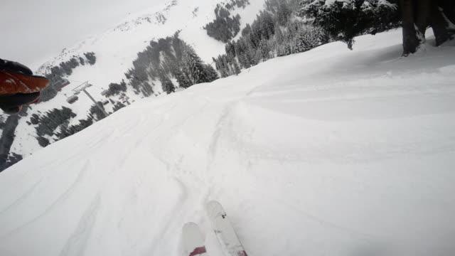 kitz ski - telemark stock videos and b-roll footage