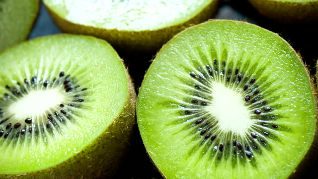 kiwi close up - kiwi fruit stock videos and b-roll footage