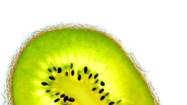 Kiwi in soda.