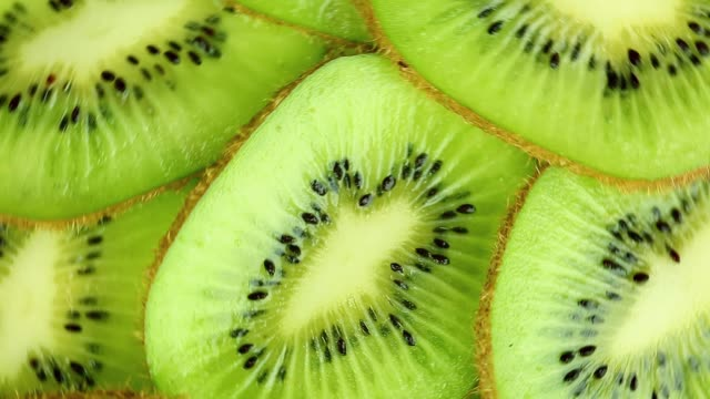 kiwi slices - kiwi fruit stock videos and b-roll footage
