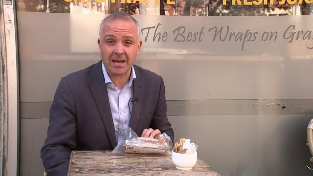 kleenex bins mansize tissues following sexism complaints england london reporter to camera cutaway close shot sandwich richard hammond setup shot and... - richard hammond stock videos & royalty-free footage