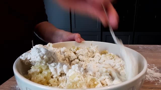 kneading pasta. - comfort food stock videos & royalty-free footage