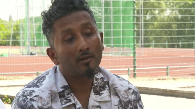 family of murder victim tashan daniel speak about his life and legacy england london hillingdon ext chandima daniel interview sot 'hillingdon... - crime and murder stock videos & royalty-free footage