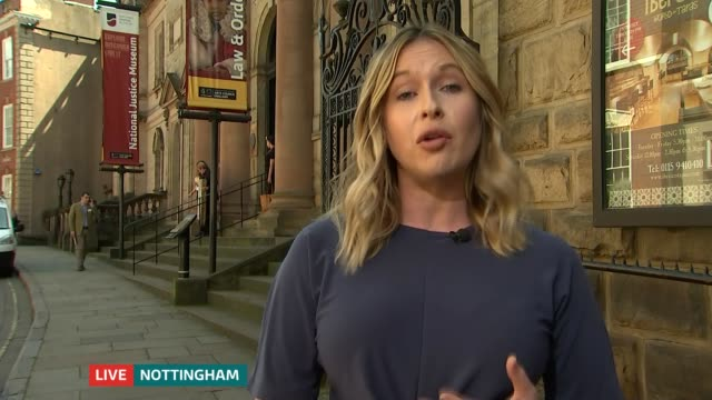 stockvideo's en b-roll-footage met knife crime incidents up by 69 per cent since 2015 england london gir int brooke kinsella 2 way interview from nottingham sot - itv lunchtime news