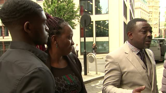 malcolm midemadariola murder killer sentenced to 16 years in jail england london old bailey ext various shots of malcolm midemadariola's family... - courthouse stock videos & royalty-free footage