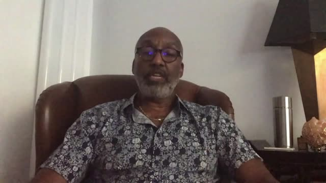 police investigation into stephen lawrence murder classified as inactive location leroy logan interview via internet sot - crime and murder stock videos & royalty-free footage