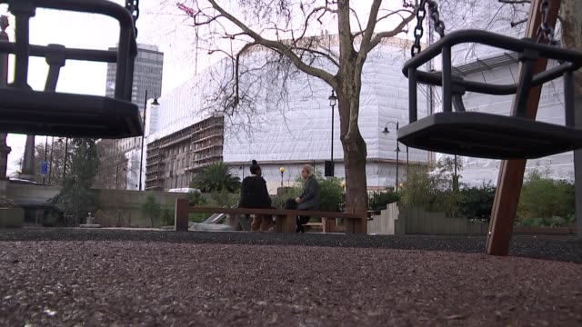 stockvideo's en b-roll-footage met theresa may denies link to police cuts england london harold hill floral tributes and police tape forensic along tele lawal setup shots and interview... - schakel