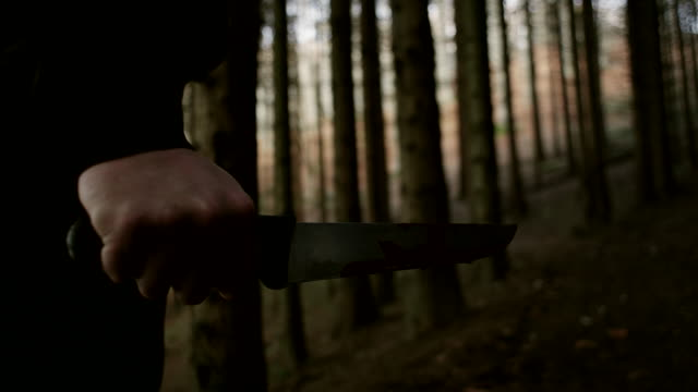 knife with blood - murder stock videos & royalty-free footage