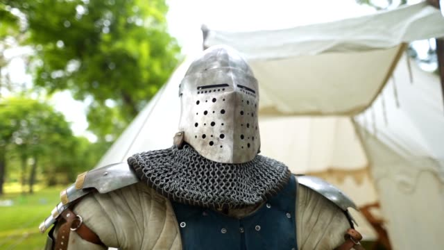 knight's armor on a display at a traditional festival - traditional armor stock videos and b-roll footage