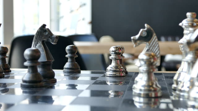 Knight's move in chess