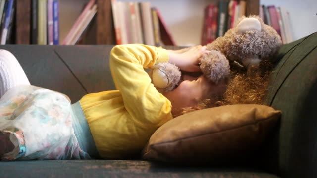 i know teddy is cute but i think i'm cuter - teddy bear stock videos & royalty-free footage