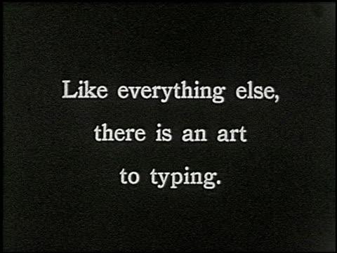 know your typewriter - 12 of 12 - andere clips dieser aufnahmen anzeigen 2356 stock-videos und b-roll-filmmaterial