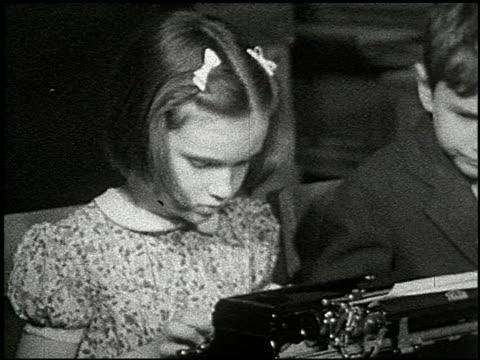 vídeos de stock, filmes e b-roll de know your typewriter - 2 of 12 - veja outros clipes desta filmagem 2356