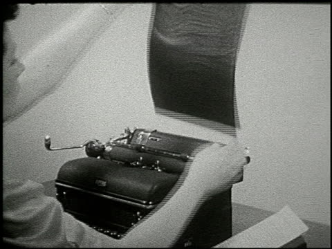 know your typewriter - 7 of 12 - see other clips from this shoot 2356 stock videos & royalty-free footage