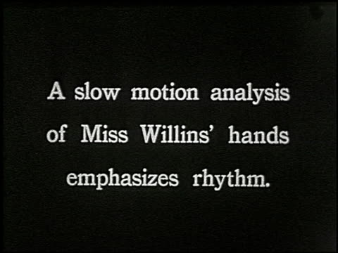 vídeos de stock, filmes e b-roll de know your typewriter - 9 of 12 - veja outros clipes desta filmagem 2356