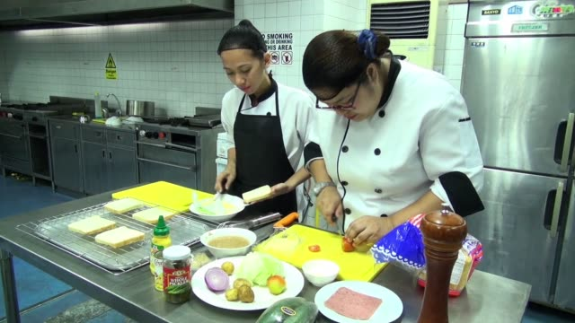 Known for its mass export of workers the Philippines has seen a recent trend towards higherskilled and betterpaying jobs with cooking schools...
