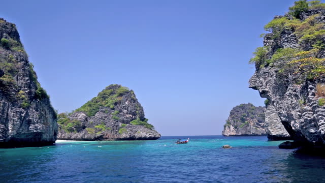 ko haa archipelago, national marine park, krabi, thailand - 1 minute or greater stock videos & royalty-free footage