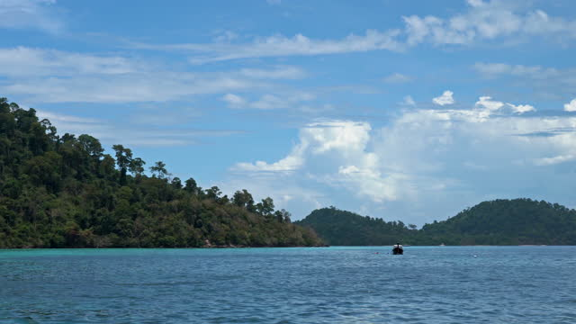 ko rok islands thailand - view into land stock videos & royalty-free footage