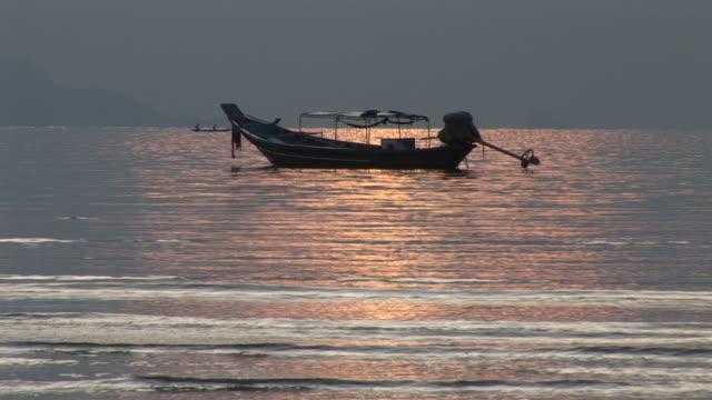 Ko Samui, ThailandView of a long tail fishing boat in Ko Samui Thailand