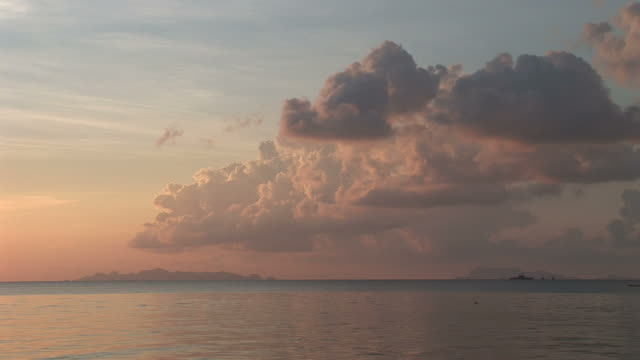 ko samui, thailandview of sunset in ko samui thailand - ko samui stock videos & royalty-free footage