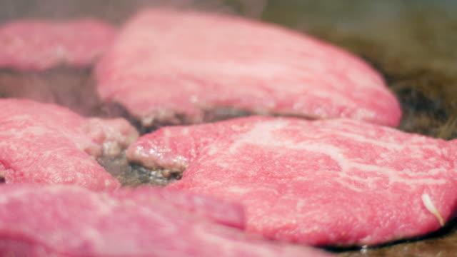 Kobe Beef teppanyaki japanese grill , japanese food , Hyogo , Japan