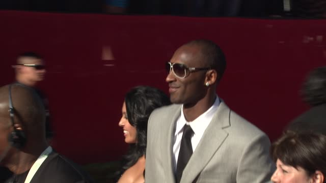 kobe bryant at the 17th annual espys arrivals at los angeles ca - kobe bryant stock videos & royalty-free footage