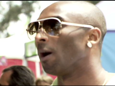 Kobe Bryant at the 'A Time For Heroes' Celebrity Picnic and Carnival to Benefit the Elizabeth Glaser Pediatric AIDS Foundation at Wadsworth Theatre...