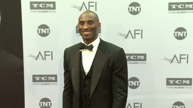 kobe bryant at the afi life achievement awards a tribute to john williams at dolby theatre on june 09 2016 in hollywood california - kobe bryant stock videos & royalty-free footage