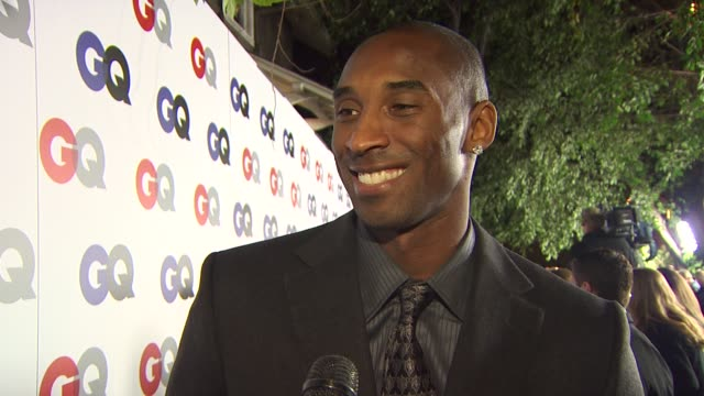 vidéos et rushes de kobe bryant on how it feels to be champion of the year,what it takes to be a champion, and if he lived in an alternate world he wasn't an nba star,... - interview format raw