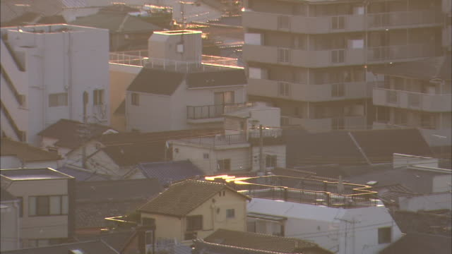 kobe city,early morning - 住宅点の映像素材/bロール
