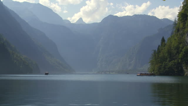 HD Koenigssee Mountain Lake (Time Lapse)