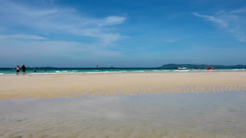 ラーン chonburi タイ、パタヤ) - 干潮点の映像素材/bロール