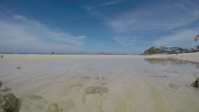 koh larn,pattaya chonburi thailand - low tide stock videos & royalty-free footage